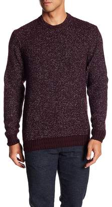 Ted Baker Marled Knit Crew Neck Sweater