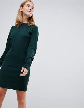 4f423b1b40 Brave Soul Grungy Round Neck Sweater Dress