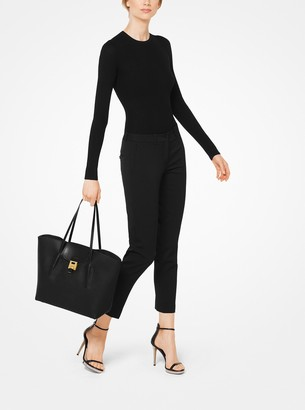 Michael Kors Bancroft Pebbled Calf Leather Tote