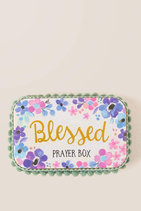 Blessed Tin Prayer Box