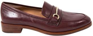 VC Signature Brown Leather Flats