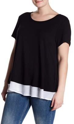 Bobeau Baby French Terry Tee (Plus Size)