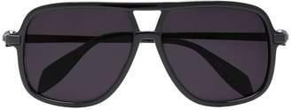 Alexander McQueen Eyewear Black aviator sunglasses