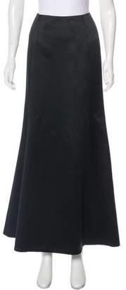 Nicole Miller Satin Maxi Skirt