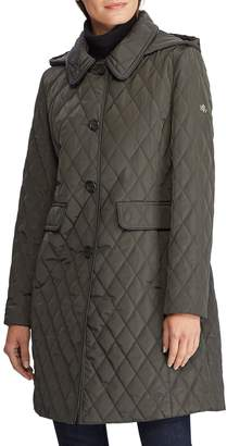 Lauren Ralph Lauren Quilted Coat with Hood