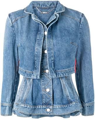 Alexander McQueen layered jacket