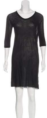 Rick Owens Sheer Mini Dress