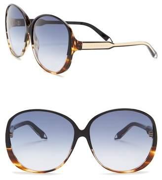 Victoria Beckham Women's 62mm Acetate Oversized Round Sunglasses