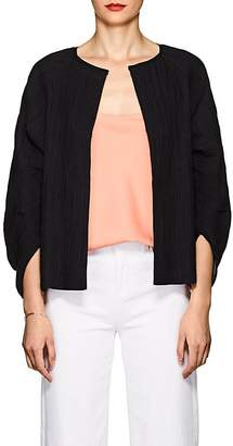 Zero Maria Cornejo Women's Beetle Shrug Cotton-Blend Jacket