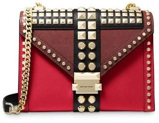 MICHAEL Michael Kors Whitney Large Studded Convertible Shoulder Bag