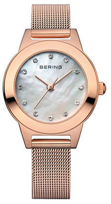 Swarovski BERING Classic Analog Rose Goldtone Crystal Watch