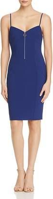 LIKELY Jaden Zipper Sheath Dress