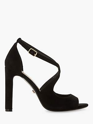 7ede631a83 at John Lewis and Partners · Dune Mistey Block Heeled Sandals