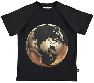 Molo Raines T-Short Ss Football World Map