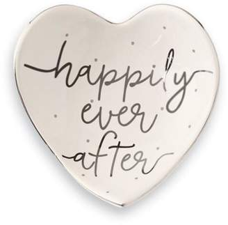 Mud Pie Happily-Ever-After Trinket Tray