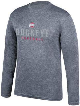 Men's Ohio State Buckeyes Chrome Long-Sleeve Tee
