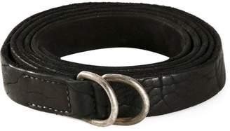 Guidi distressed belt