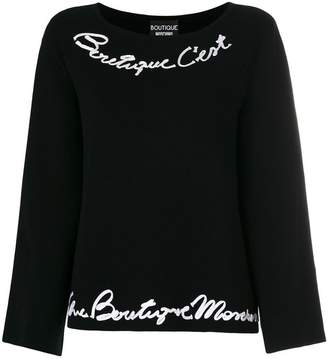 Moschino trumpet sleeves jumper