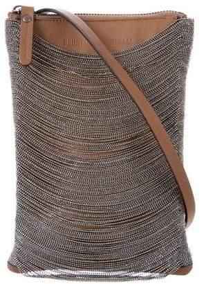 Brunello Cucinelli Small Monili-Draped Crossbody Bag