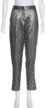 Stella McCartney Silk Jacquard Pants