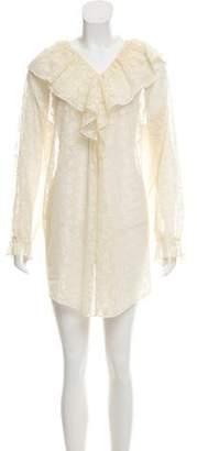 Ralph Lauren Sheer Lace Dress