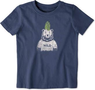 Life is Good Wild Bear Crusher T-Shirt