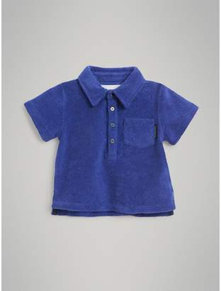 Burberry Towelling Polo Shirt