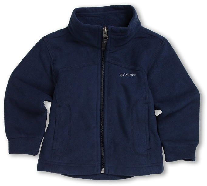 Columbia Kids - TechMatic Fleece (Infant/Toddler) (Collegiate Navy/Wham) - Apparel