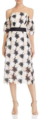 Sam Edelman Off-the-Shoulder Lace Dress
