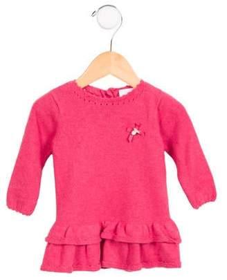 Tartine et Chocolat Girls' Layered Sweater