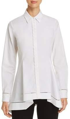 Elie Tahari Raz Lace-Trimmed Shirt