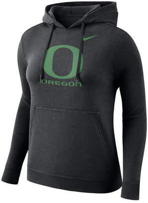 Nike Women Oregon Ducks Club Hooded Sweatshirt