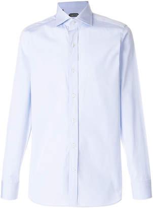 Tom Ford cutaway collar shirt