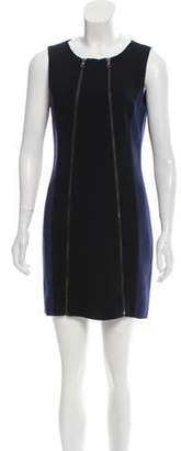 Rag & Bone Zip-Accented Colorblock Dress
