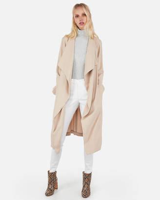 Express Zip Pocket Soft Trench Coat