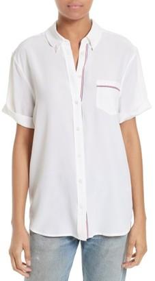 Women's Equipment Betty Silk Shirt $228 thestylecure.com