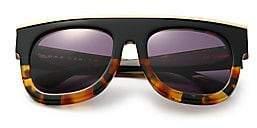 Dax Gabler Gabler Women's Oversized Rectangular Tortoise Shell Sunglasses