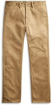 Ralph Lauren Straight Selvedge Twill Pant