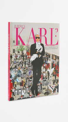 Karl Lagerfeld Paris Books With Style Where's Karl?