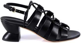 Salvatore Ferragamo Lace-Up Heels