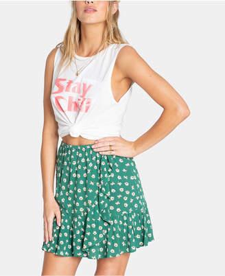 Billabong Juniors' For The Ride Floral-Print Skirt