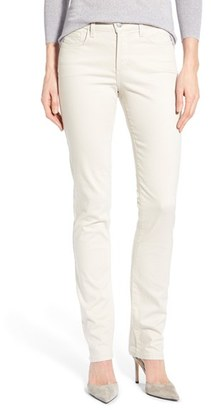 Women's Nydj 'Samantha' Stretch Slim Straight Leg Jeans $110 thestylecure.com