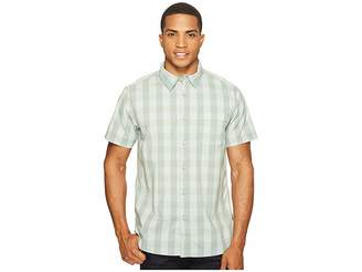 The North Face Short Sleeve Voyager Shirt (Laurel Wreath Green Plaid