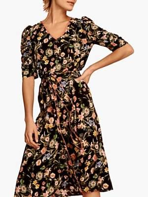f59687e6f7c7 Gerard Darel Gloire Floral Flared Dress