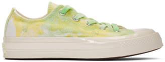 Converse Green Tie-Dye Chuck 70 Low Sneakers