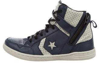 Converse by John Varvatos Boys' Leather High-Top Sneakers