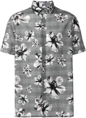 Neil Barrett floral print shirt