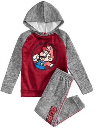 Nintendo Toddler Boys 2Pc. Mario Graphic Hoodie & Pants Set