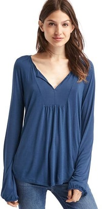 Drapey peasant top $34.95 thestylecure.com