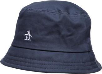 Original Penguin Mens Bucket Hat Dark Sapphire